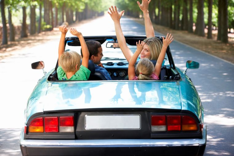 Family-road-trip-games-convertible-happy-hands-up-760x507